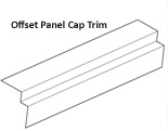 Offset Panel Cap Trim