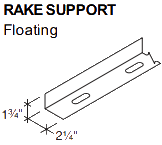 RAKE SUPPORT Floating