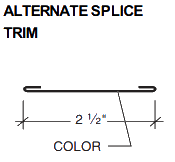 ALTERNATE SPLICE TRIM