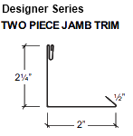 TWO PIECE JAMB TRIM