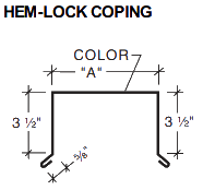 HEM-LOCK COPING