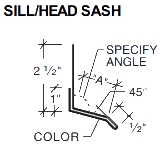 SILL/HEAD SASH