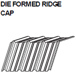 Die Formed Ridge Cap