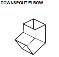 Downspout Elbow