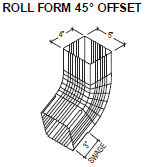 Roll Form 45 Offset